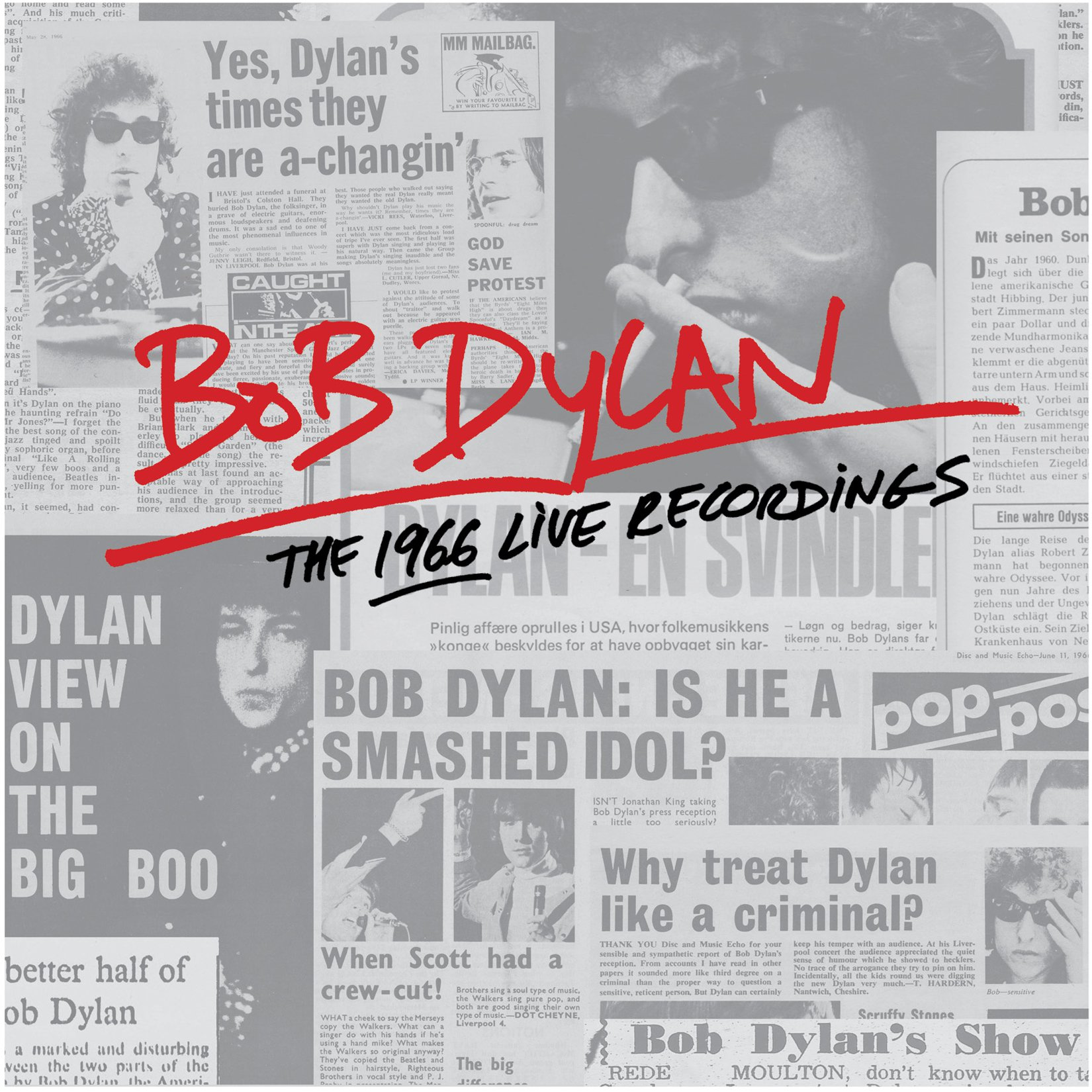 Bob Dylan announces massive 36 disc box set of 1966 live recordings