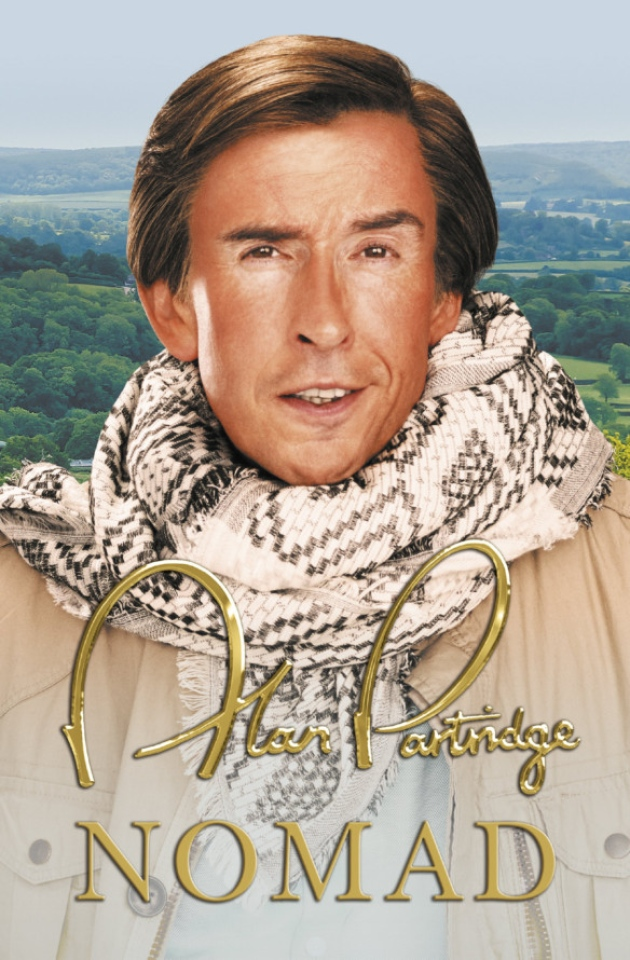 partridge book cover Jurassic Park! Alan Partridge returns with new book, slams Game of Thrones