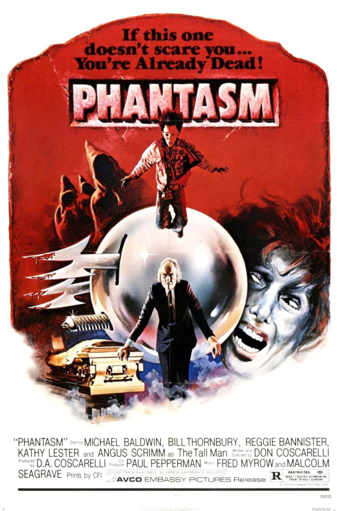 phantasm poster The Ball Is Back: Don Coscarelli on Phantasm, Fanboys, and Pesky Fishing Wire