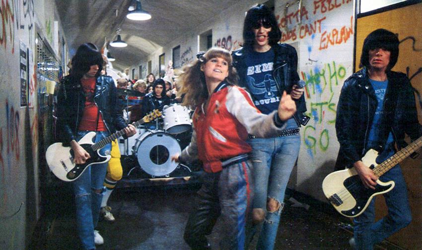 Rock n roll High school cult movie poster print