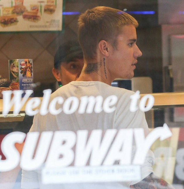 Subway Bieber