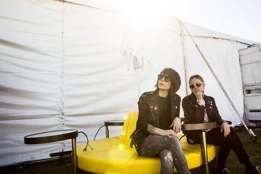 Tegan and Sara // Photo by Philip Cosores