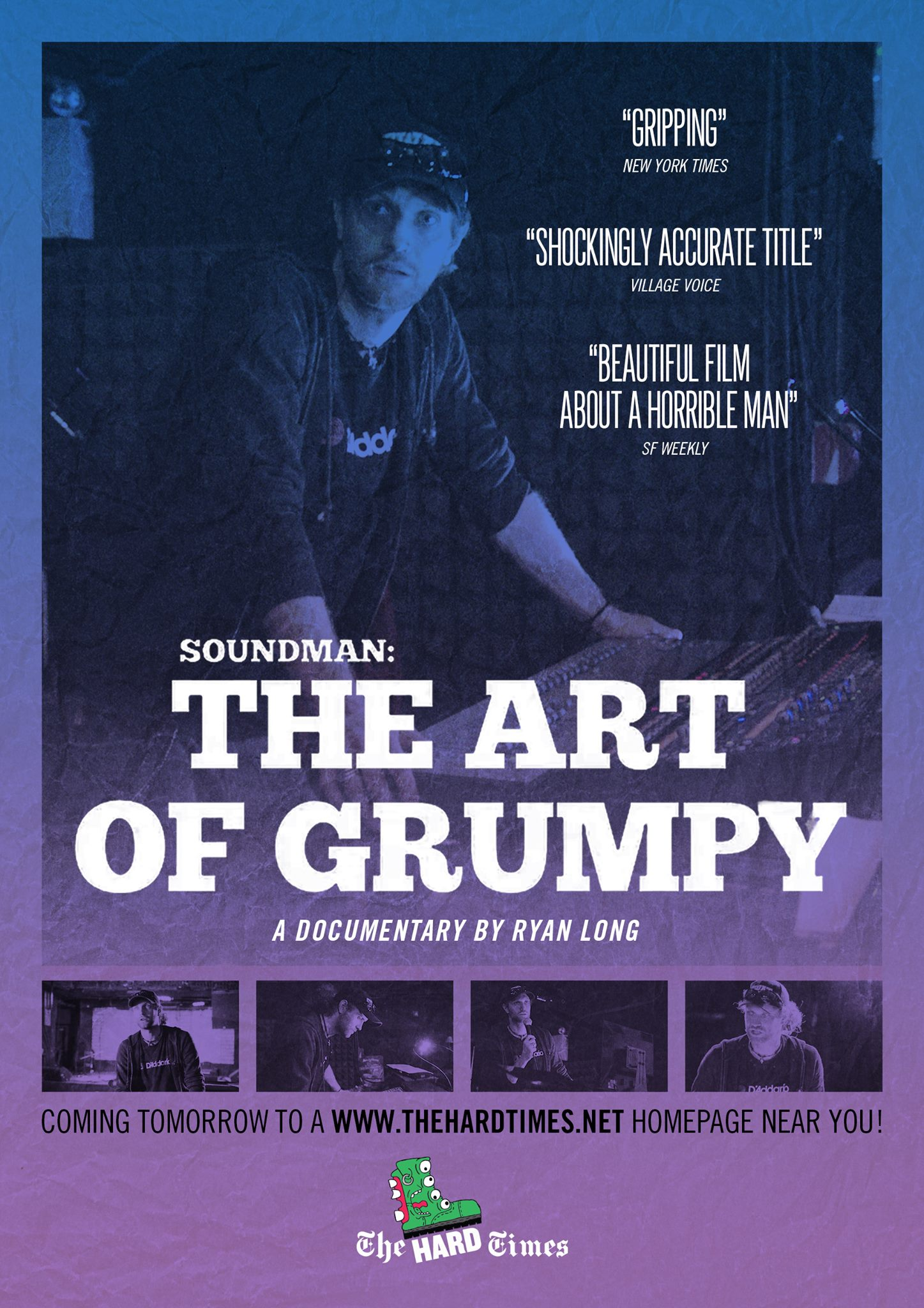 14481995 10153891488573483 2583350133182281026 o Grumpy sound guy has the last laugh in new documentary from The Hard Times    watch