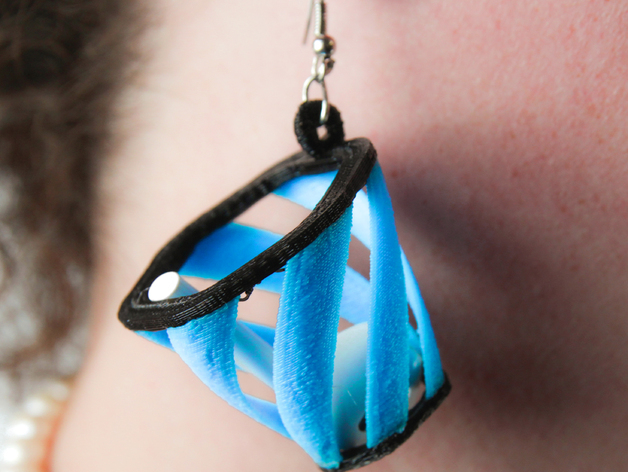 17f8b8e70aa16e6ac0d721d7e0062a2e preview featured These 3D printed basket earrings are designed to stop you from losing your Apple AirPods
