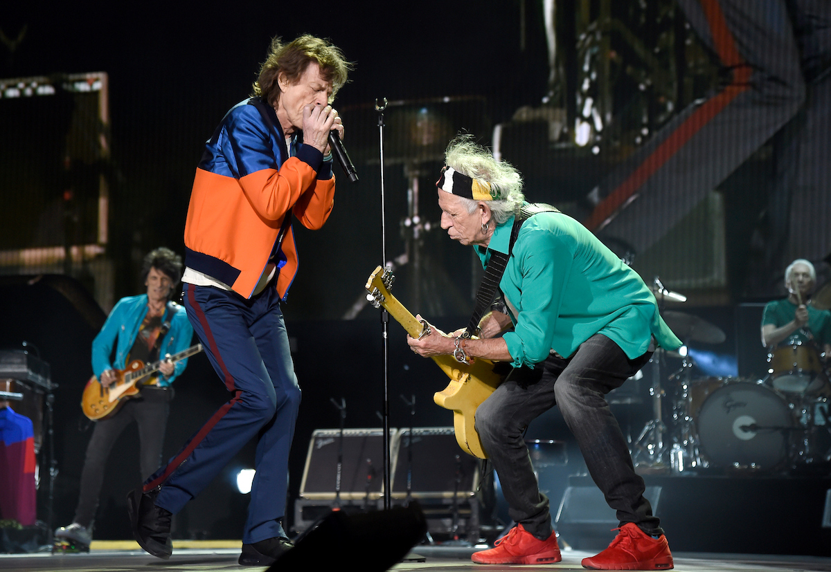 The Rolling Stones at Desert Trip