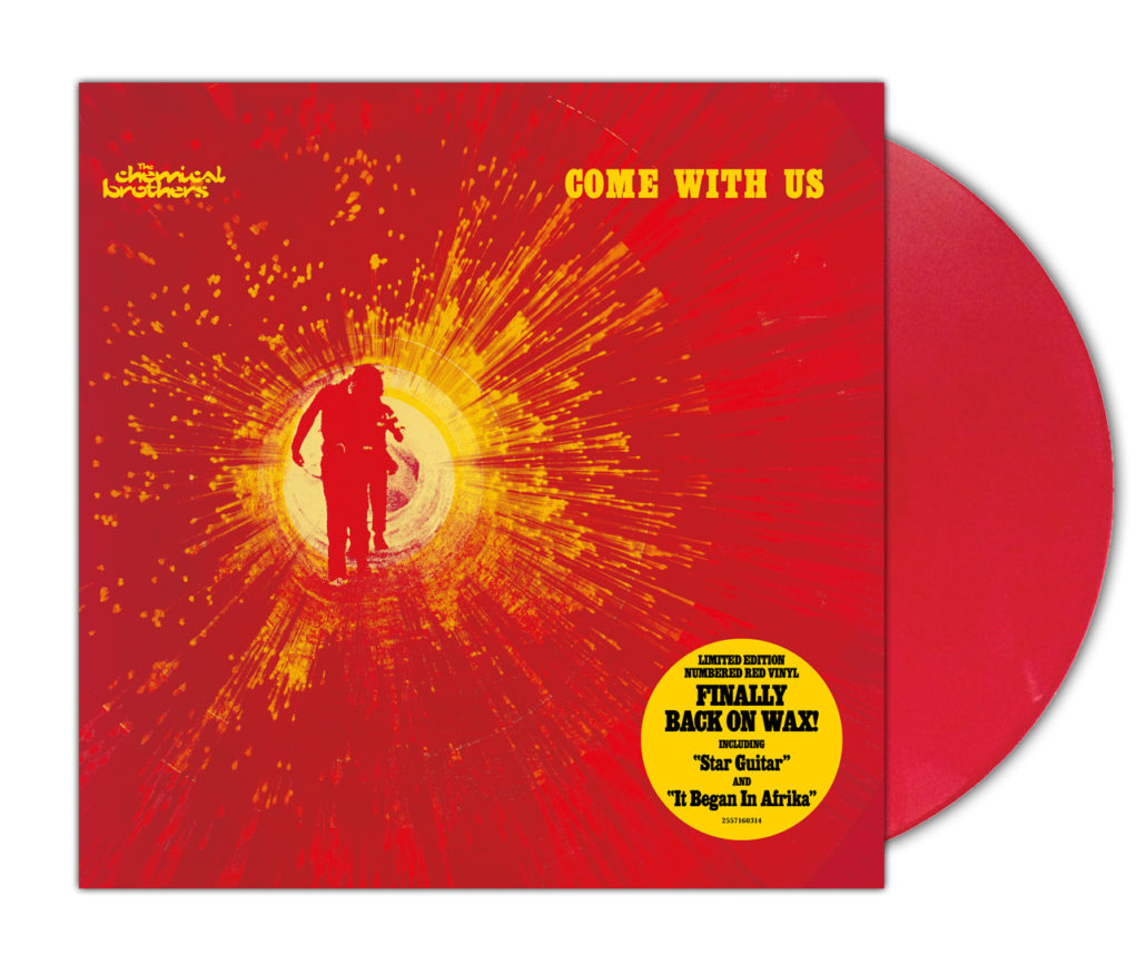 comewithus redvinyl 1030x866 The Chemical Brothers reissuing entire catalog on vinyl