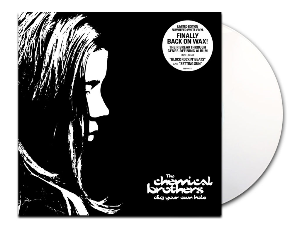 dighole whitevinyl 1030x773 The Chemical Brothers reissuing entire catalog on vinyl