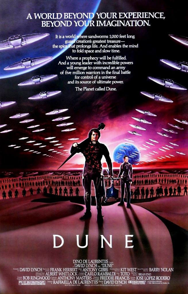 dune Ranking: Every David Lynch Film from Worst to Best