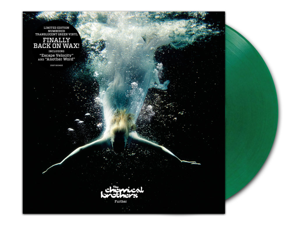further transgreenvinyl 1030x773 The Chemical Brothers reissuing entire catalog on vinyl