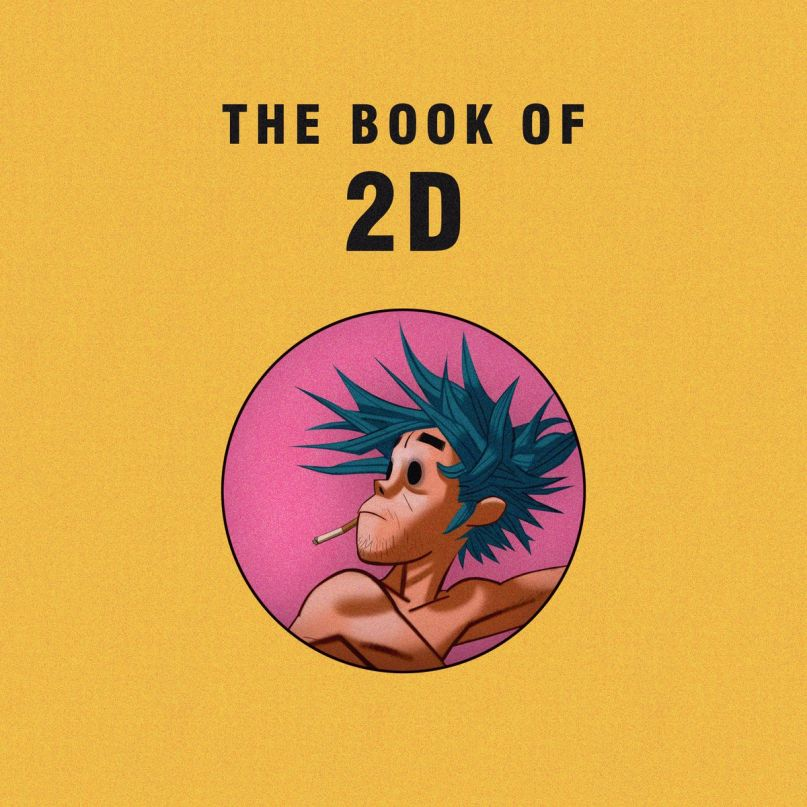 Gorillaz Share New Digital Story The Book Of 2D