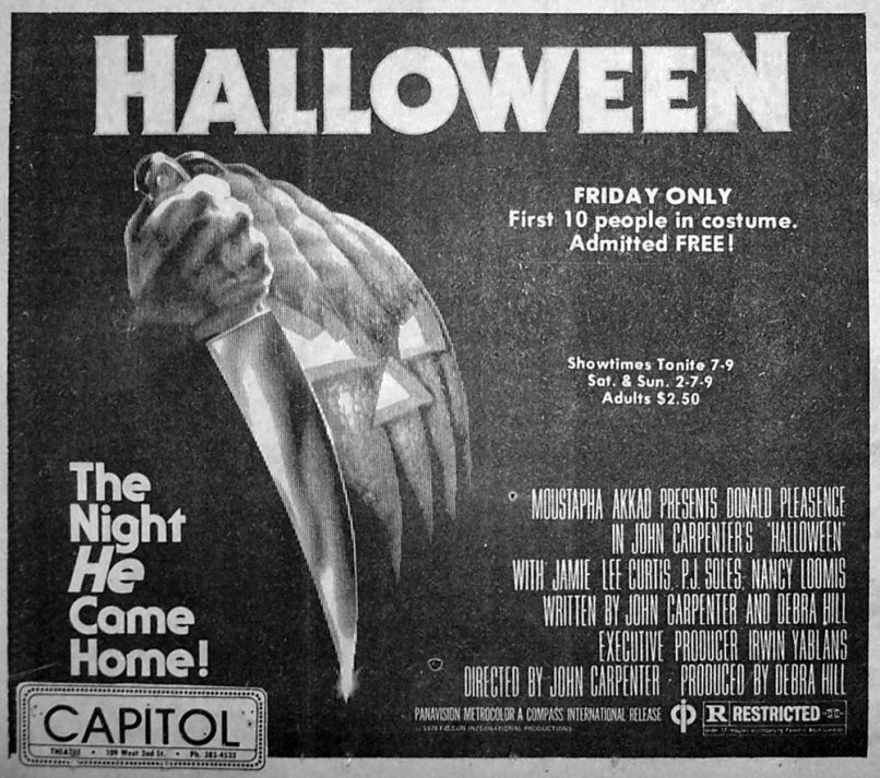 halloween ad The Making of John Carpenters Halloween