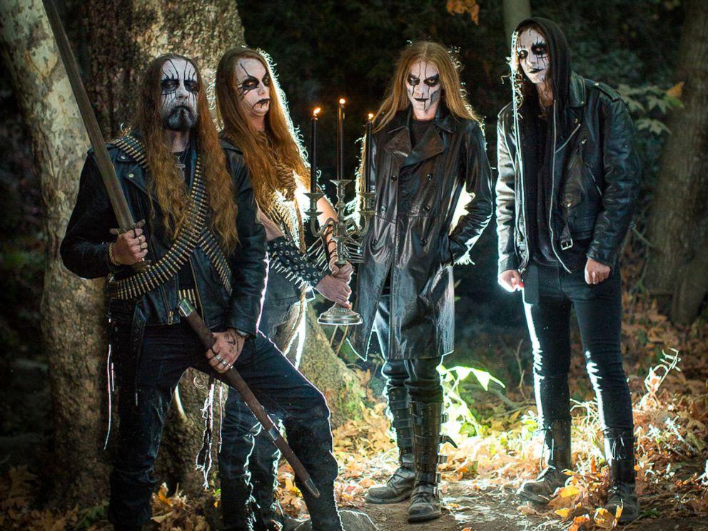ht black metal photoshoot as 02 161021 4x3 992 Black metal band crashes couples engagement photo shoot