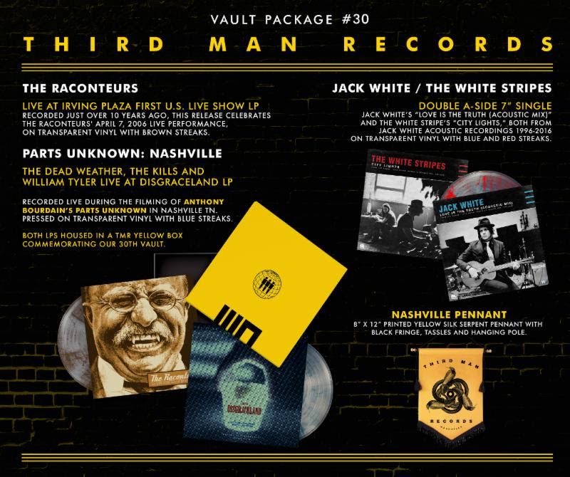 unnamed 7 All four of Jack Whites projects represented in new Third Man Records Vault package