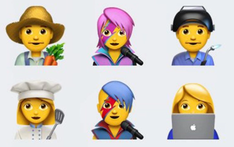 The latest iPhone update will include a David Bowie emoji