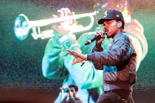 Chance the Rapper // Photo by Philip Cosores
