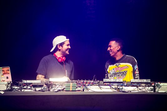 Dillon Francis and Taco // Photo by Philip Cosores