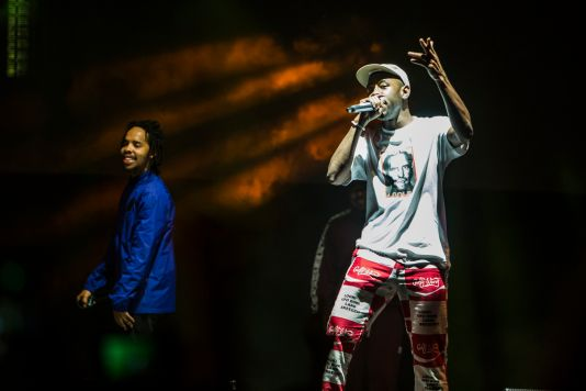 Earl Sweatshirt and Tyler, The Creator // Photo by Philip Cosores