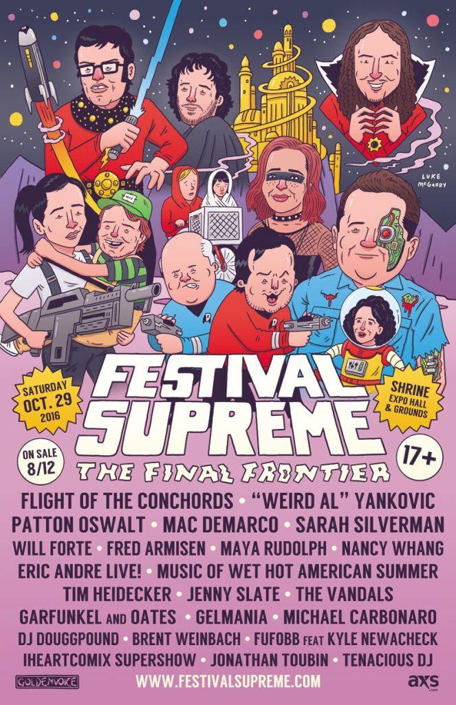festivval supreme Top 10 Music Festivals: Fall 2016 Power Rankings
