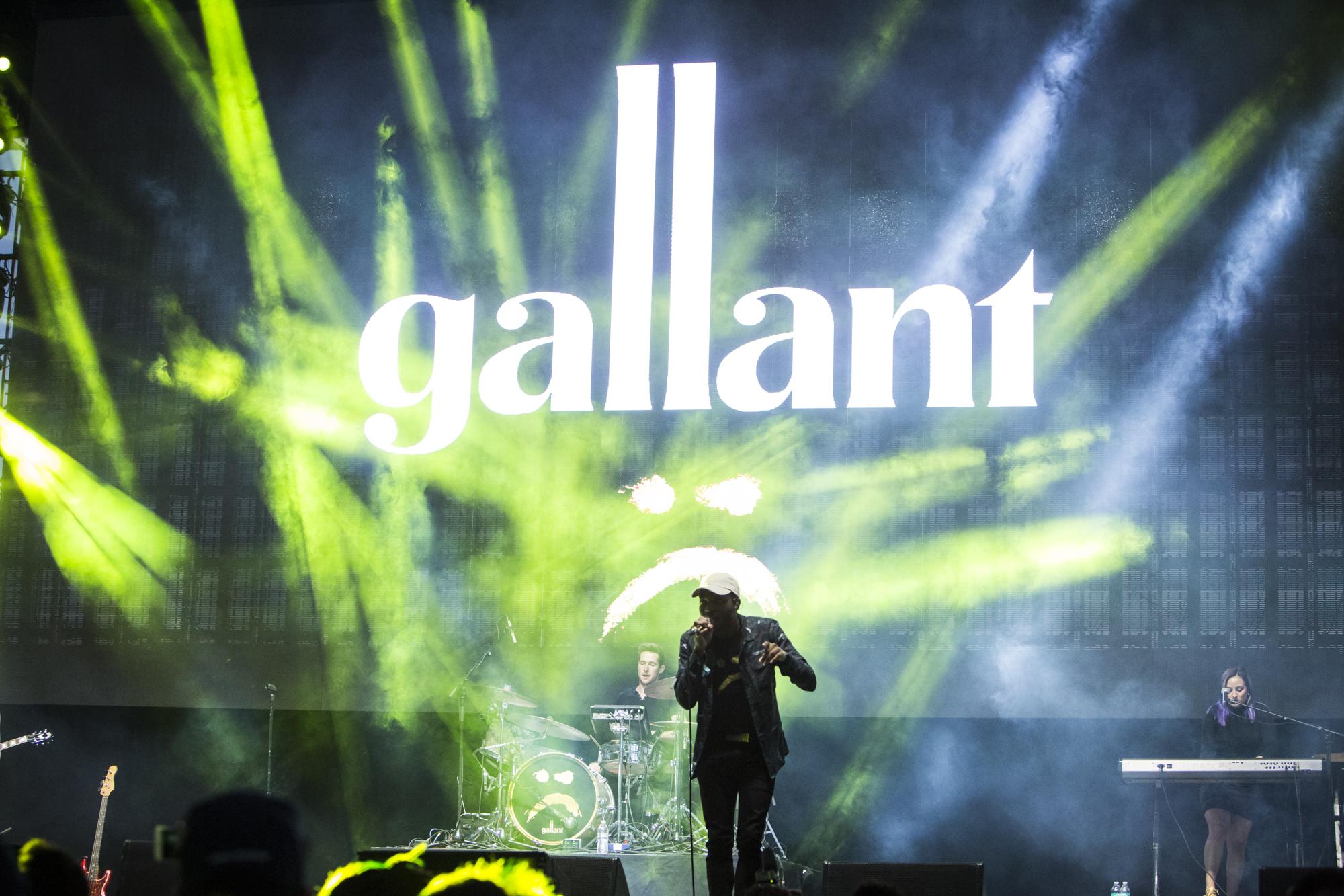 Gallant // Photo by Philip Cosores