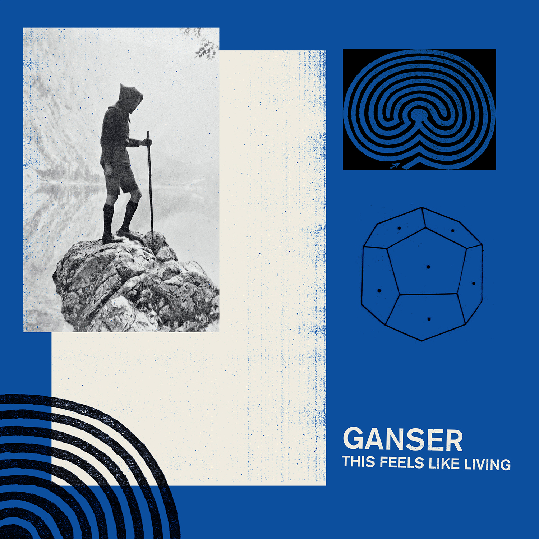 ganser tfllep art small Stream: Chicago outfit Gansers new EP, This Feels Like Living