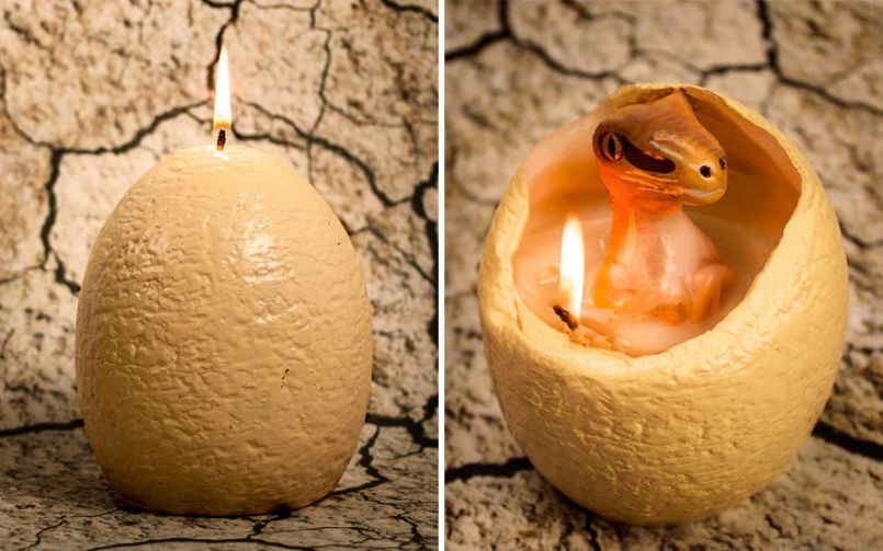 hatching dinosaur candle raptor firebox 4 Consequence of Sounds 2016 Holiday Gift Guide
