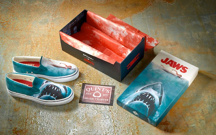jaws shoes box display 700x438 Consequence of Sounds 2016 Holiday Gift Guide