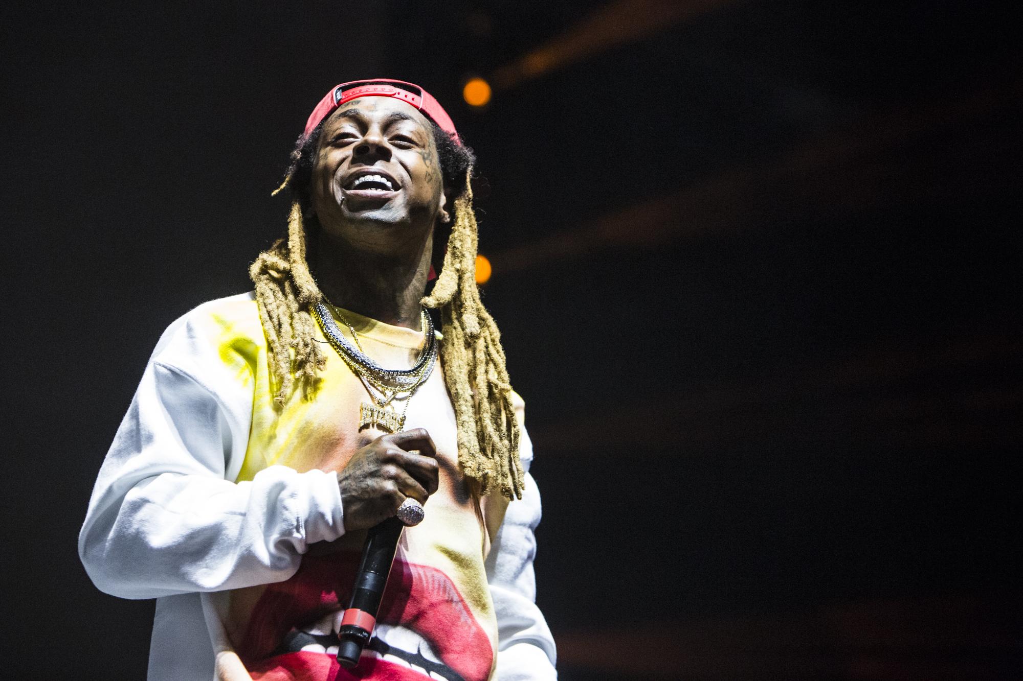 Lil Wayne // Photo by Philip Cosores