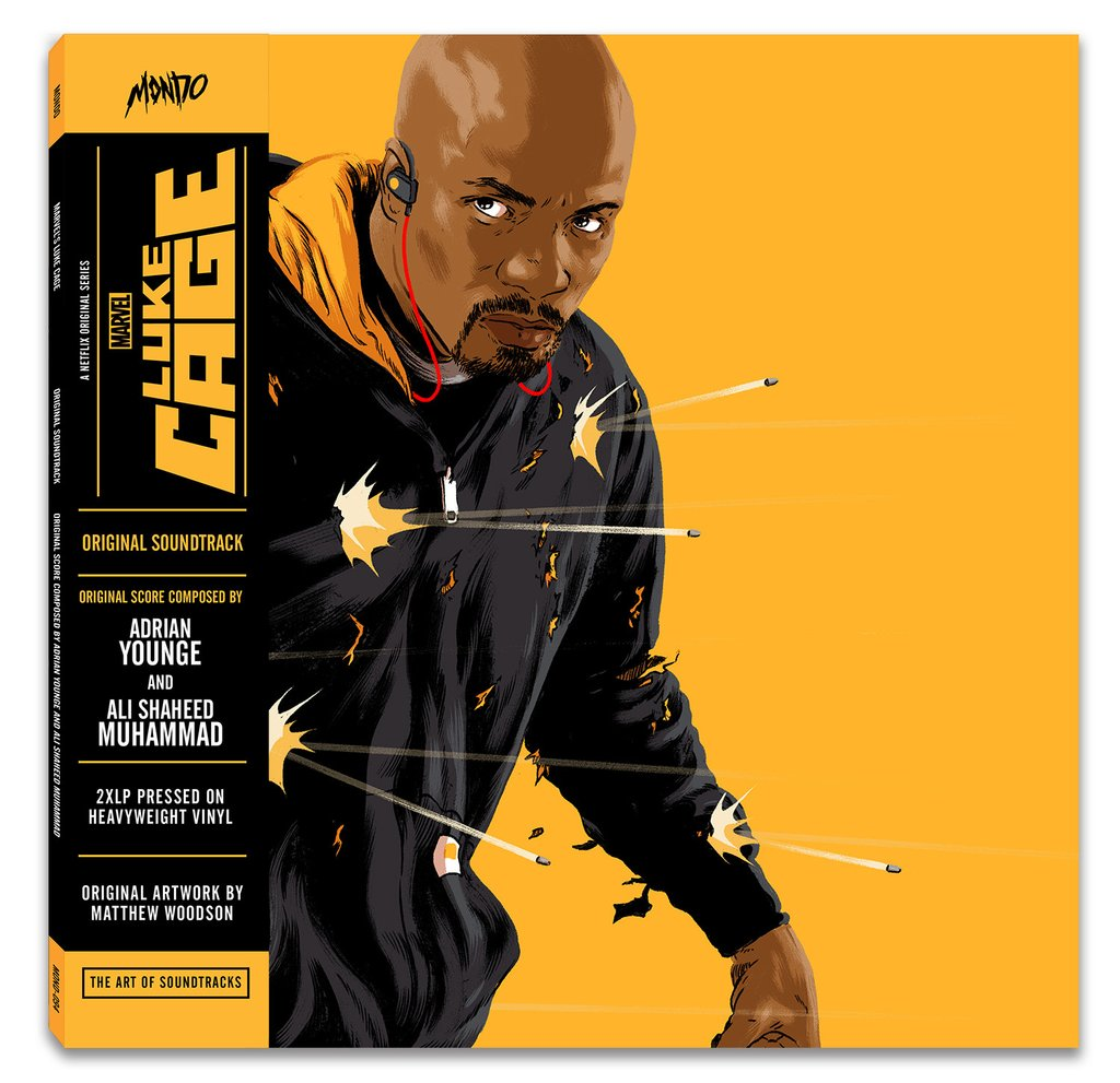 luke cage Soundtracks to Marvels Daredevil, Jessica Jones being released on vinyl