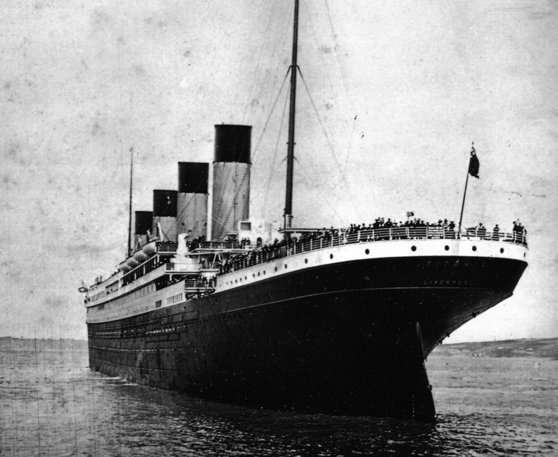 rms titanic 1908 in Pop Culture, AKA The Last Time the Chicago Cubs Won a World Series Title