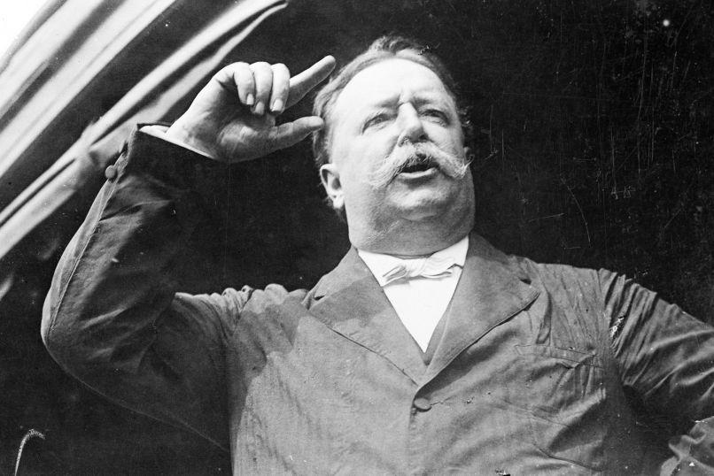 William Howard Taft Speaking