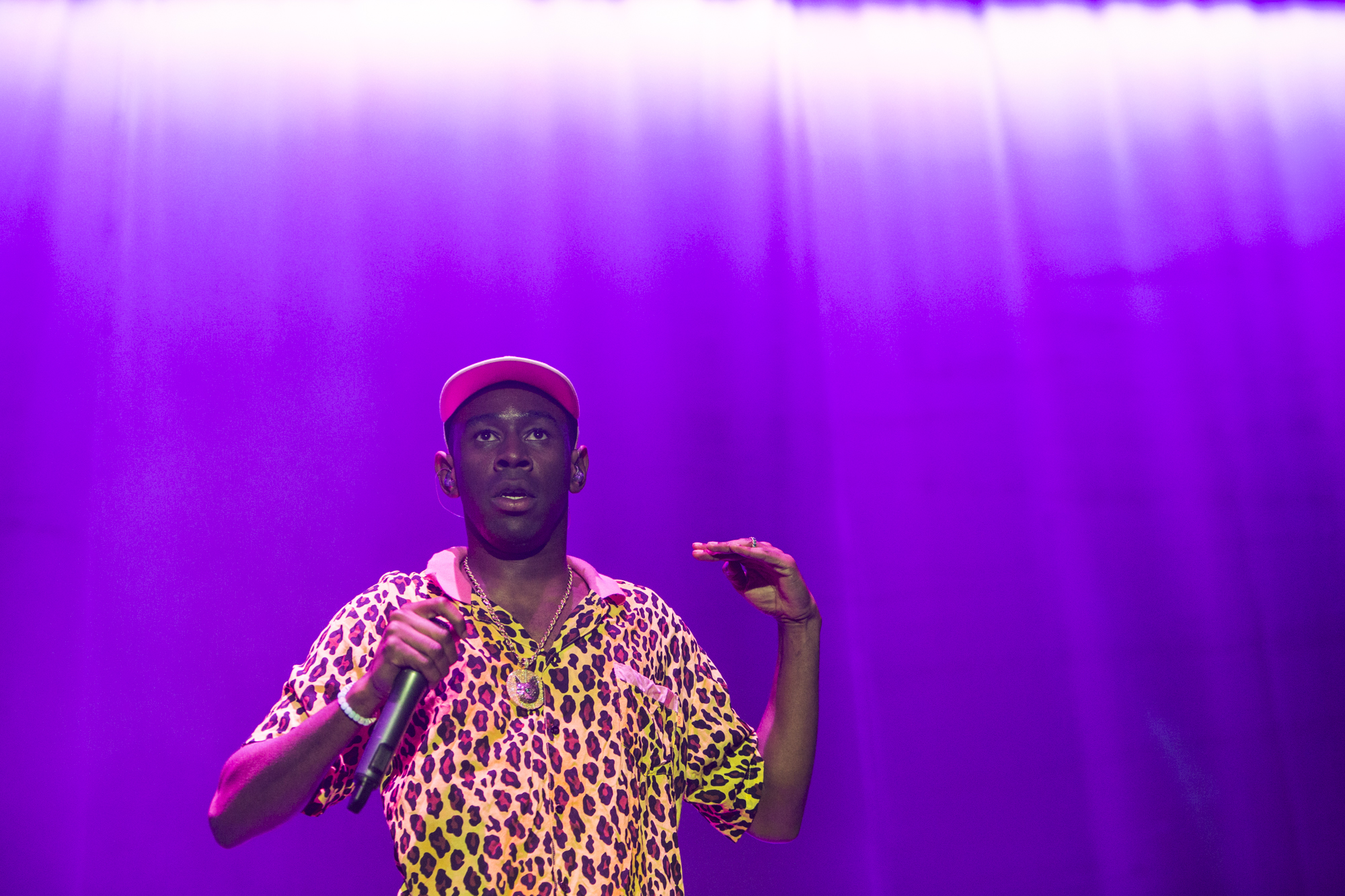 Tyler, The Creator // Photo by Philip Cosores