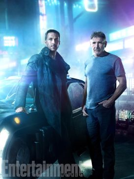 Blade Runner 2049 (2017) L-R: Ryan Gosling and Harrison Ford