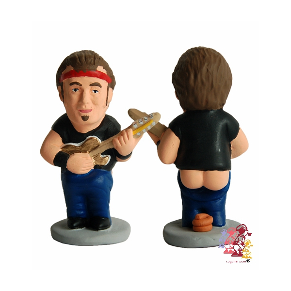 bruce springsteen This Spanish website sells statues of musicians pooping