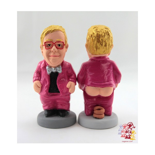 caganer elton john This Spanish website sells statues of musicians pooping