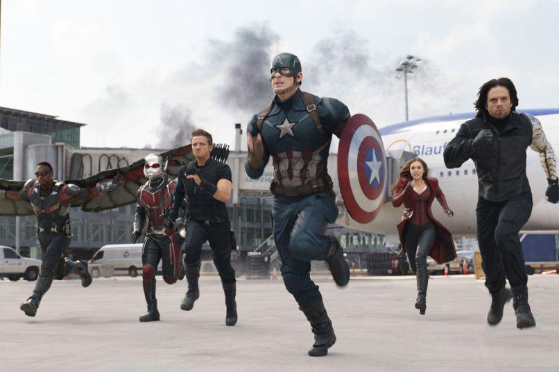 Captain America: Civil War, Chris Evans, Superhero Movies