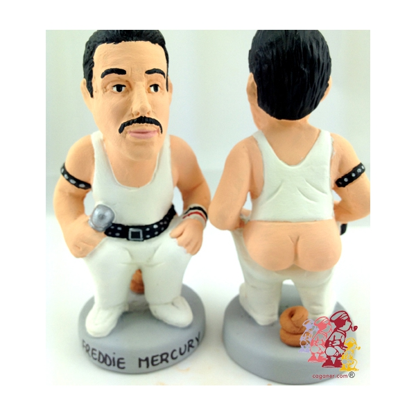 freddie mercury This Spanish website sells statues of musicians pooping
