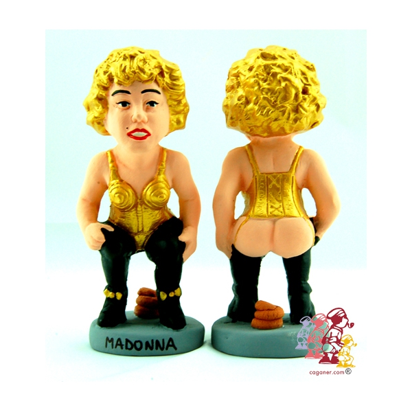 madonna This Spanish website sells statues of musicians pooping