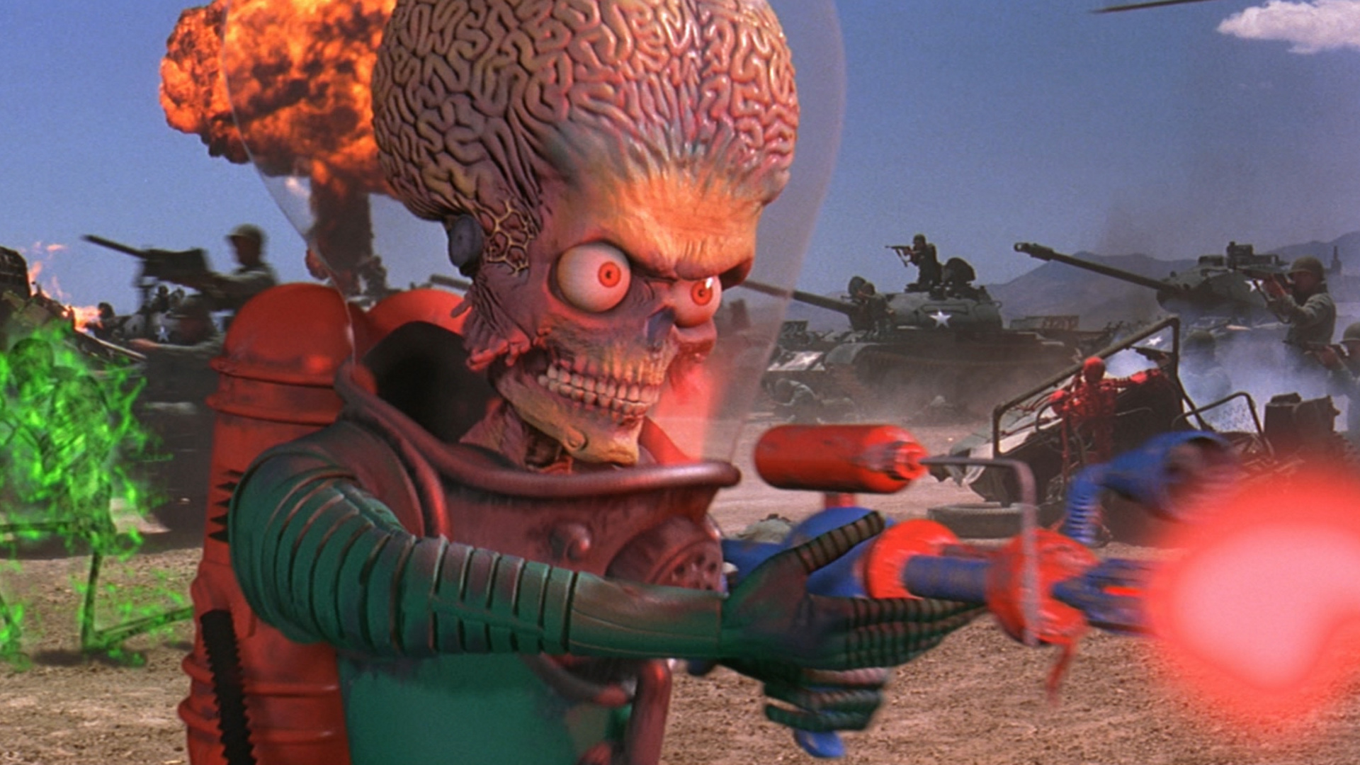 Mars Attacks Is Still Equally Funny And Unsettling 20 Years