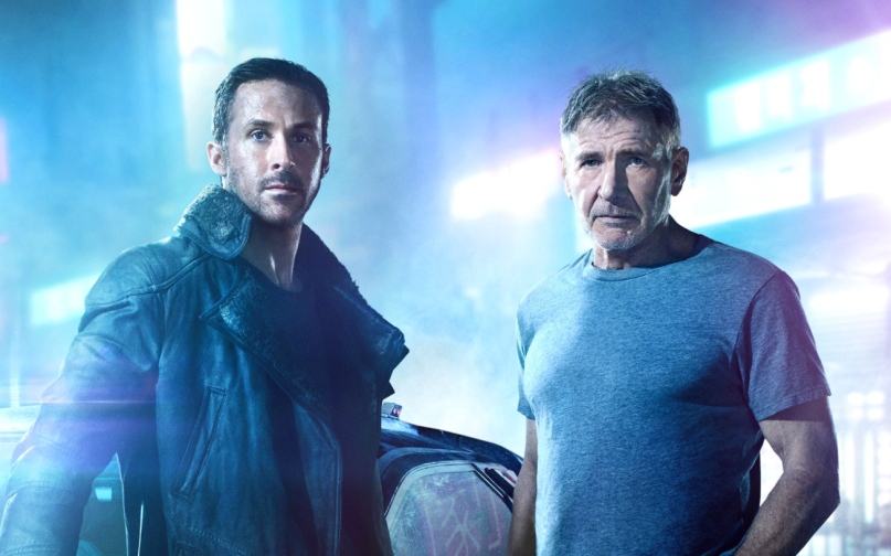 2a8299eee Ryan Gosling and Harrison Ford look badass in new photos for Blade ...
