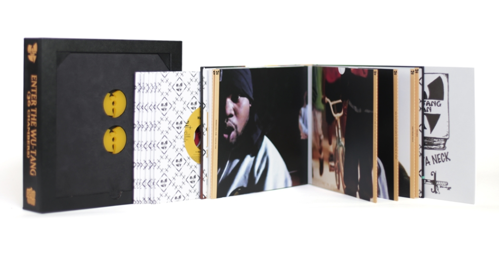 screen shot 2016 12 21 at 12 02 00 pm Merry RZA mas: Win Test Printings of Wu Tang Clans Enter the Wu Tang (36 Chambers) 7 inch vinyl reissue casebook