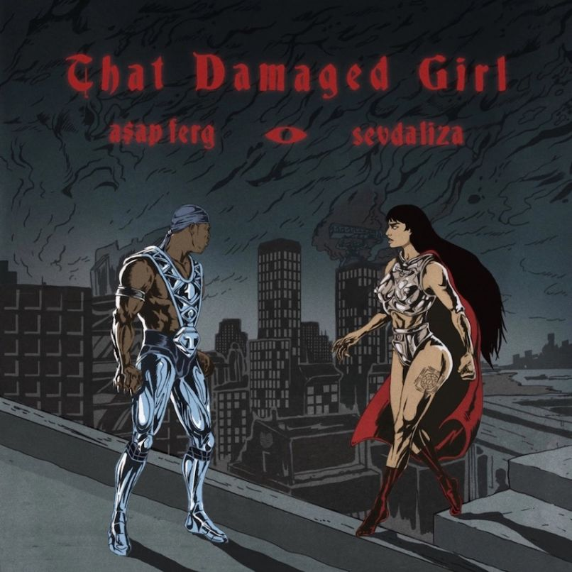 sevdaliza that damaged girl comic 1 Sevdaliza and ASAP Ferg are post apocalyptic badasses in new That Damaged Girl video    watch