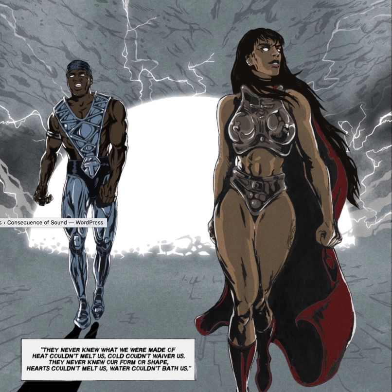 sevdaliza that damaged girl comic 2 Sevdaliza and ASAP Ferg are post apocalyptic badasses in new That Damaged Girl video    watch
