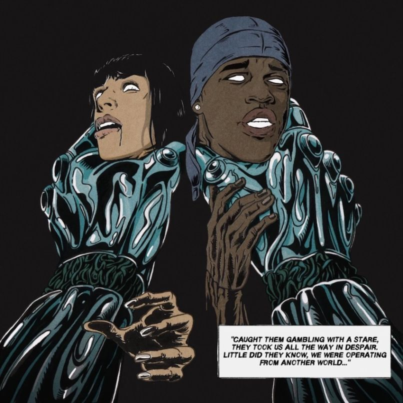sevdaliza that damaged girl comic 3 Sevdaliza and ASAP Ferg are post apocalyptic badasses in new That Damaged Girl video    watch