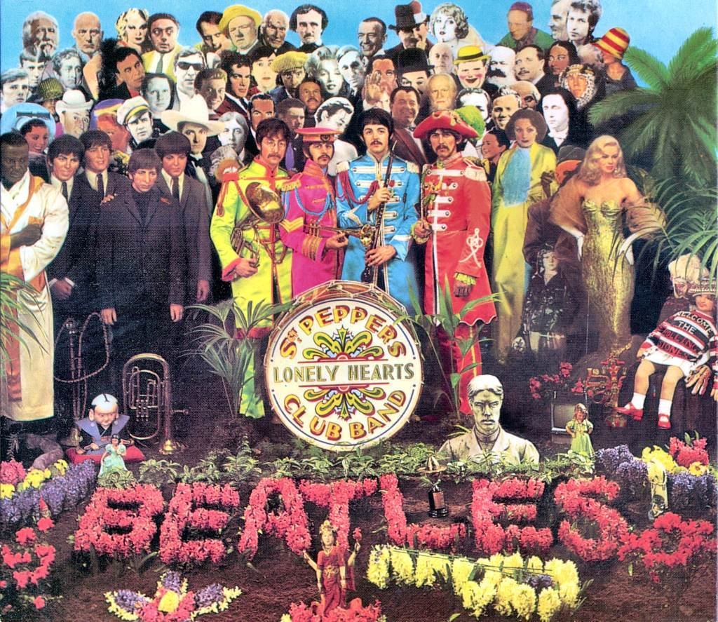 sgt pepper cover Sgt. Peppers artwork updated to feature all the legends lost in 2016