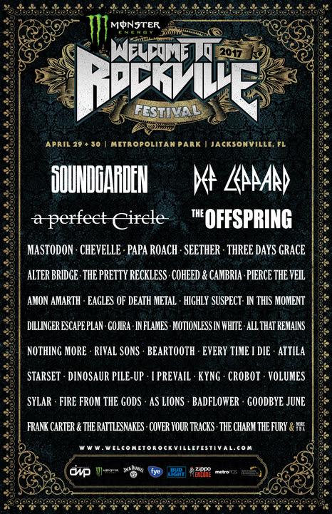 unnamed 2 Soundgarden, A Perfect Circle to headline Carolina Rebellion 2017