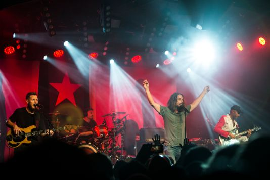 Audioslave // Photo by Philip Cosores
