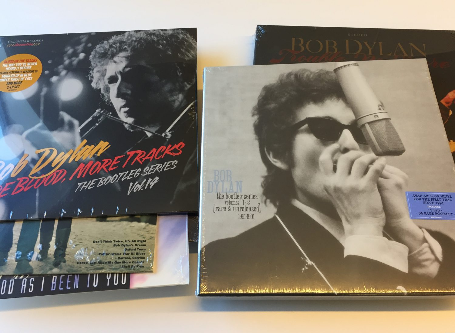 bob dylan vinyl giveaway e1541627073182 Win Bob Dylan vinyl prize pack featuring More Blood, More Tracks, studio albums, and box sets