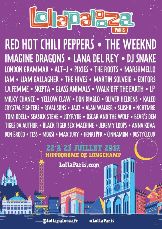 lollapalooza paris Lollapalooza expands to Paris in 2017, reveals inaugural lineup