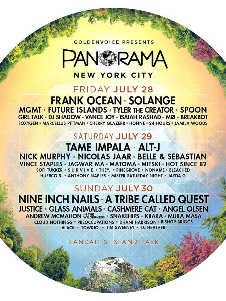 panorama 2017 Top 10 Music Festivals: Winter 2017 Power Rankings