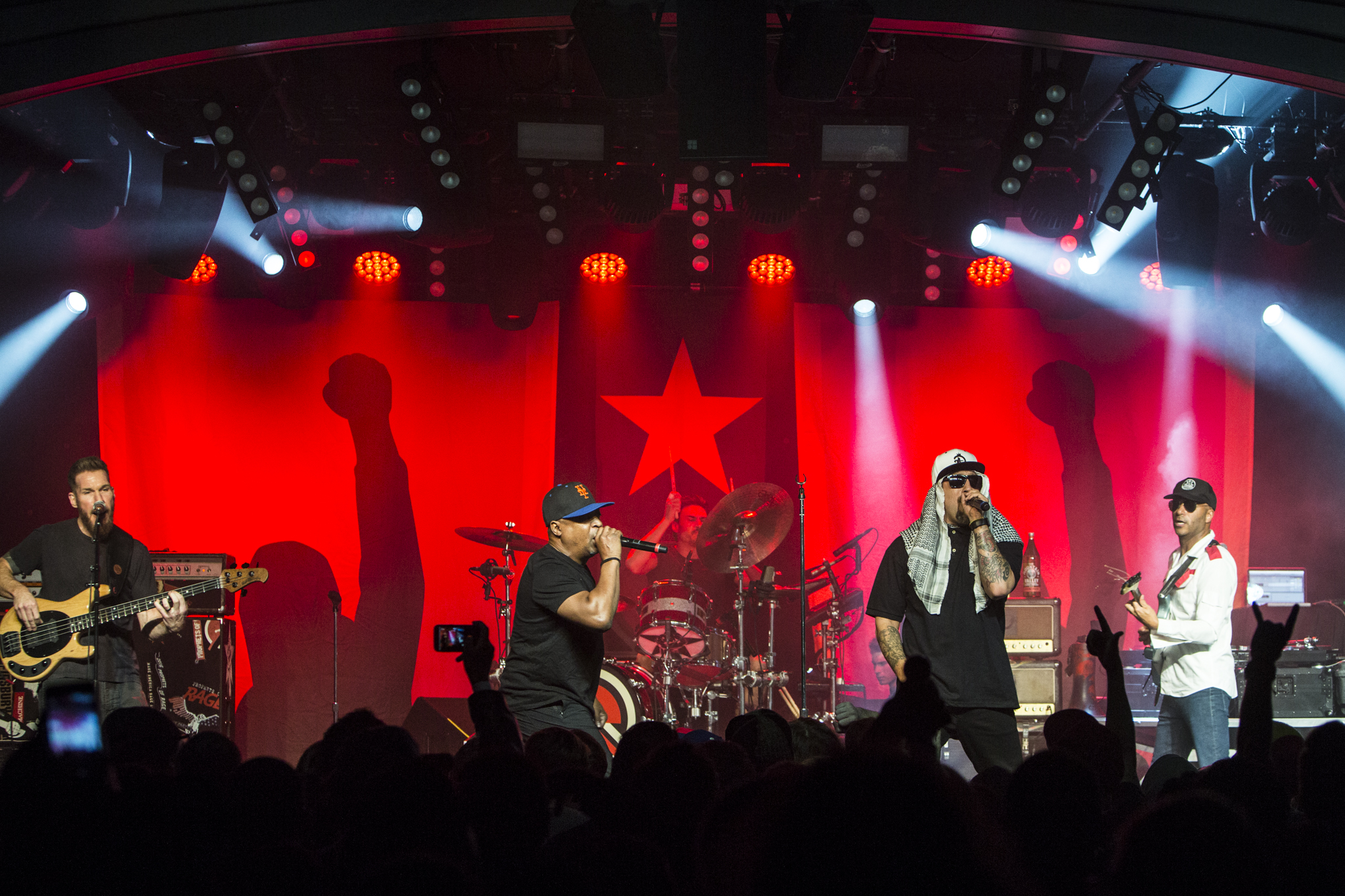 Prophets of Rage // Photo by Philip Cosores